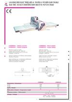 GENERAL CATALOGUE - All the CAPLAIN produced machines - 8