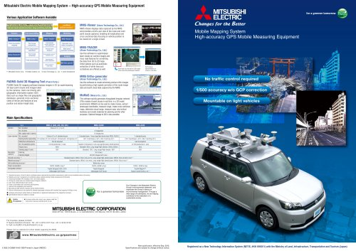 Mobile Mapping System?High-precision GPS Mobile Measurement Systems