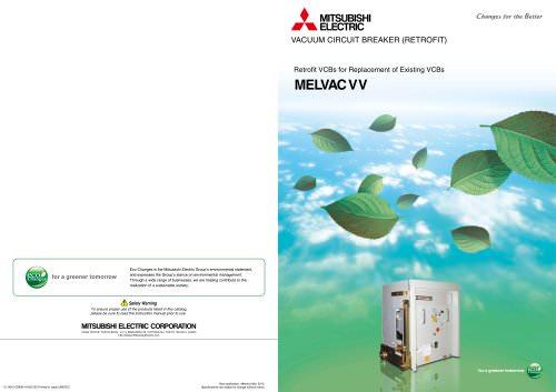 Retrofit Vacuum Circuit Breakers Type VV