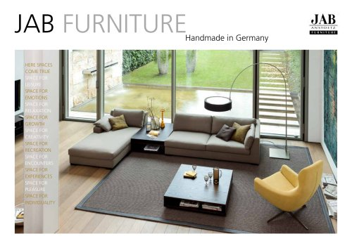 Jab Furniture magazine