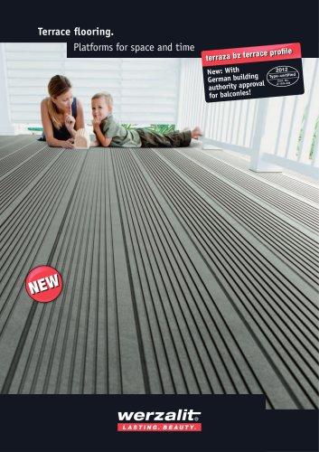 Terrace flooring