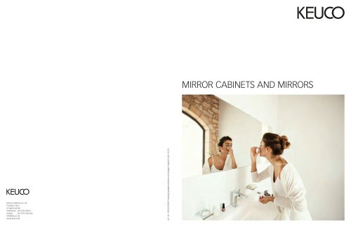 MIRROR CABINETS AND MIRRORS