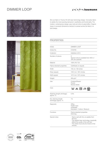 COLLECTION 2013:DIMMER LOOP