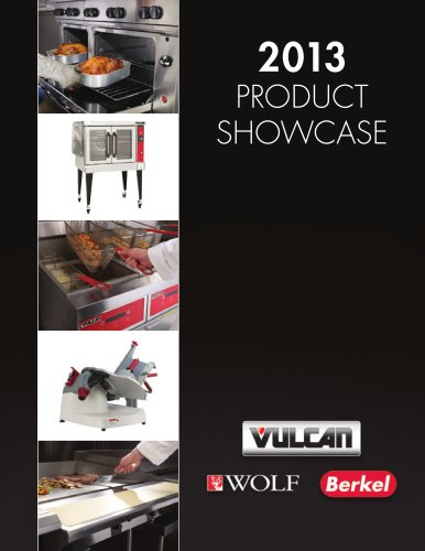 2013 PRODUCT SHOWCASE