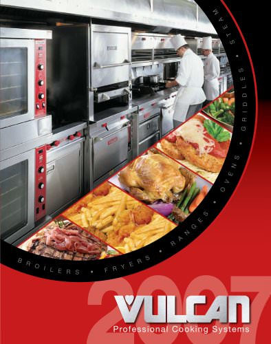 Full Line Professional Cooking Systems