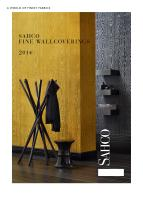 SAHCO Fine Wallcoverings 2014