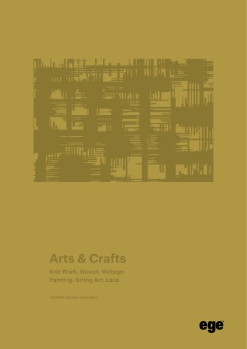 Arts & Crafts brochure Highlin