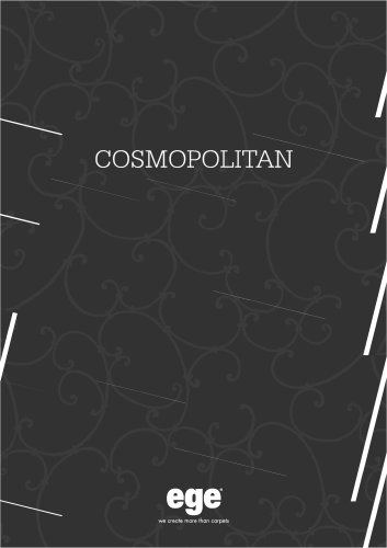 COSMOPOLITAN CATALOGUE
