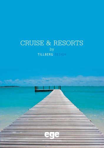 CRUISE & RESORTS by Tillberg design