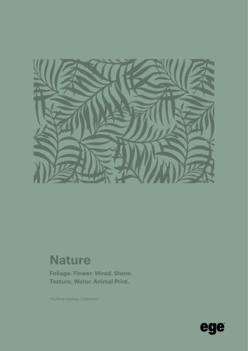 Nature brochure Highline