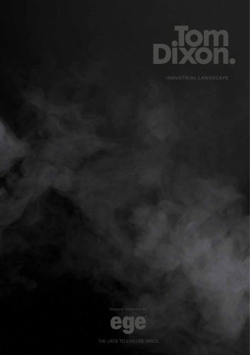 Tom Dixon Industrial brochure