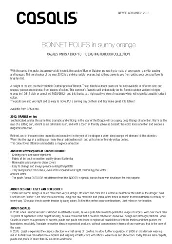 Bonnet poufs