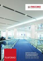 RADIANT CEILINGS FOR PLAFORAD HEATING AND COOLING