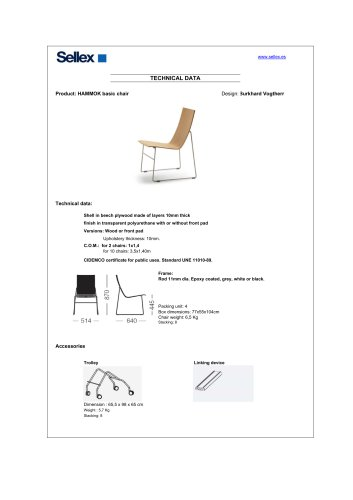 HAMMOK basic chair