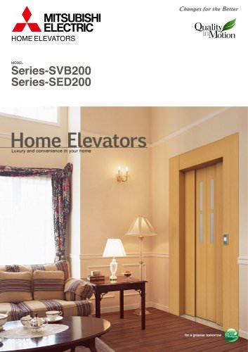 Home elevators - Series-SVB200Series-SED200
