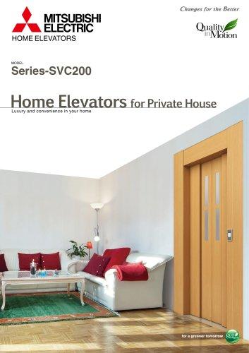 Home elevators - Series-SVC200