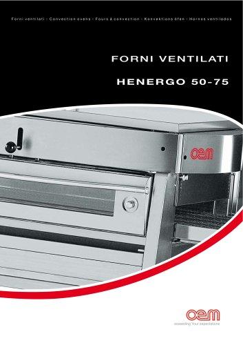 Convection Ovens – serie HENERGO 50-75