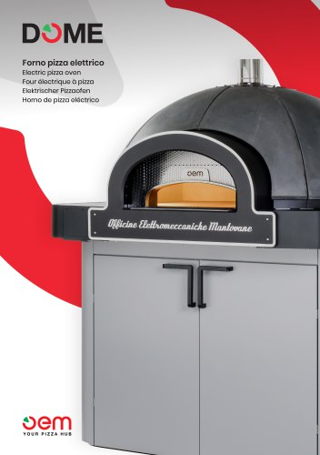 DOME - Electric pizza oven