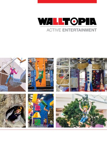 Walltopia Active Entertainment Product Catalogue