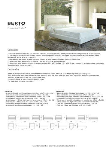 Cassandra Bed