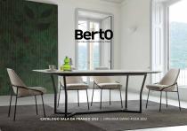 Catalogue Dining room 2020 - BertO