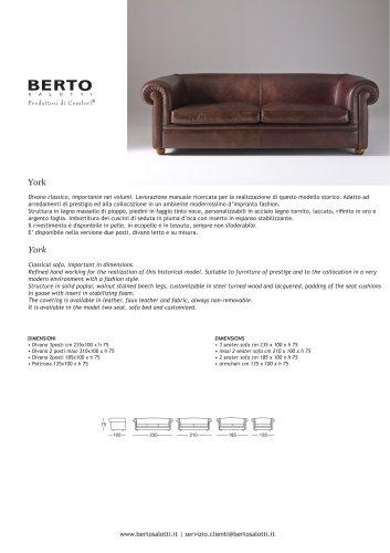 York Sofa