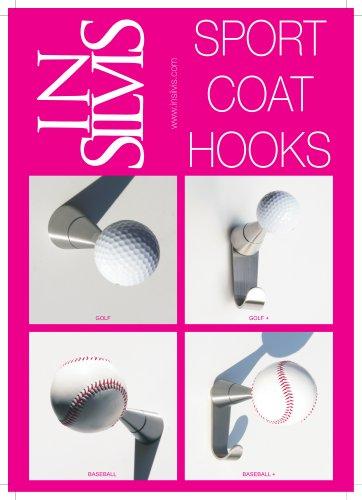 Insilvis Sport Coat Hooks Selection