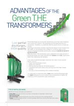 Green T.HE CAST RESIN TRANSFORMERS - 6