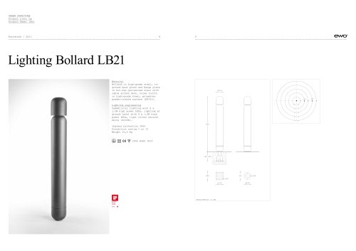Lighting Bollard LB21