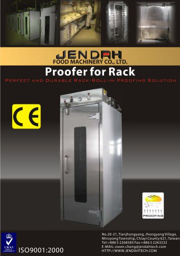 Roll-in proofer