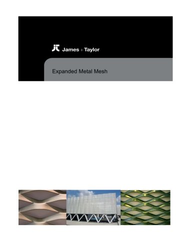 James & Taylor Expanded Mesh