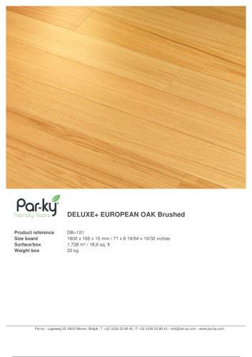 DELUXE+ EUROPEAN OAK Brushed