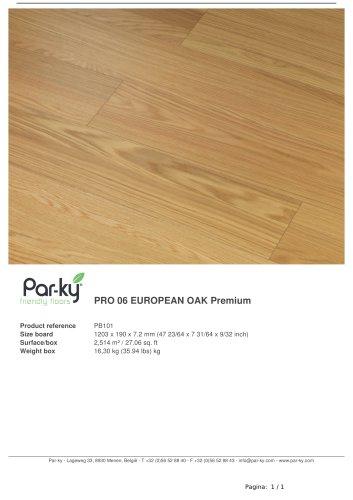 PRO 06 EUROPEAN OAK Premium