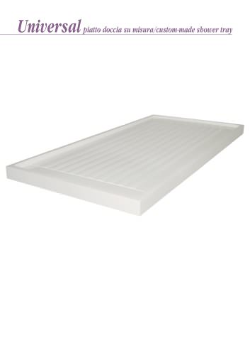 Custom-made shower tray UNIVERSAL
