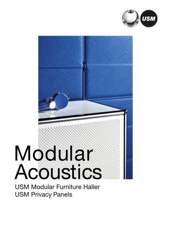 Modular acoustics