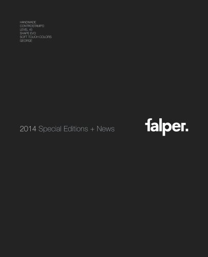 2014 speciel editions+news