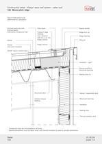 Kalzip Construction details - 10