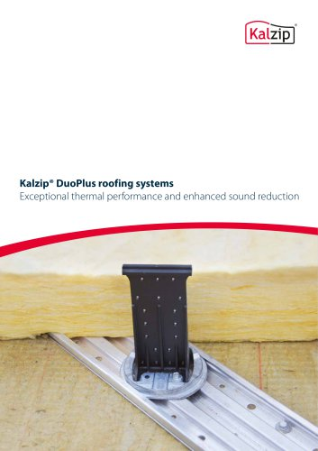Kalzip® DuoPlus roofing systems