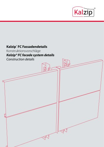 Kalzip® FC facade system