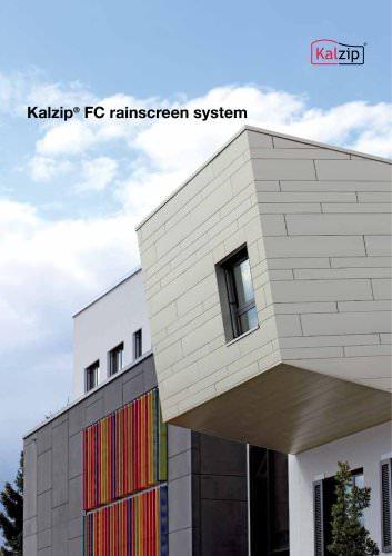Kalzip FC rainscreen system