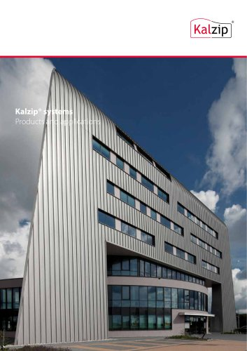 Kalzip® systems Products and applications
