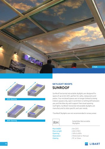 Libart SunRoof Catalogue