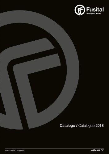 Fusital Catalogue 2018