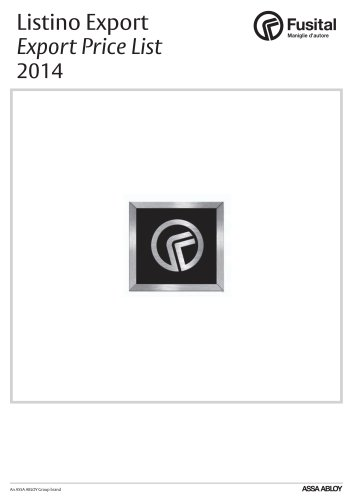 Fusital Catalogue