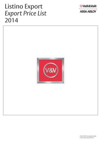 ValliValli Catalogue