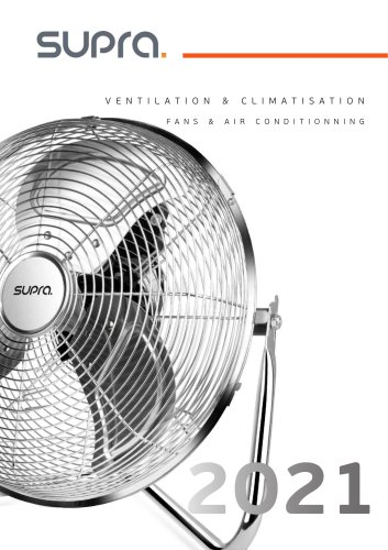 VENTILATION & CLIMATISATION FANS & AIR CONDITIONNING