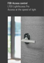 FSB Access control L700 LightAccess Pro Access at the speed of light - 1