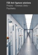 FSB Anti-ligature solutions Prisons – Forensic Units – Psychiatry - 1