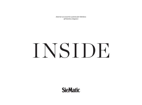 Inside Siematic Pdf Catalogs, Siematic Kitchen Cabinet Dimensions