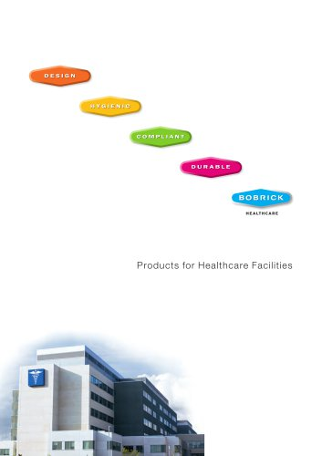 Bobrick Products for Healthcare Facilities